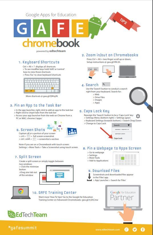 google chromebook tips