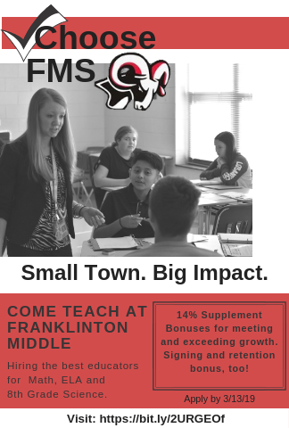Special program for Franklinton Middle School