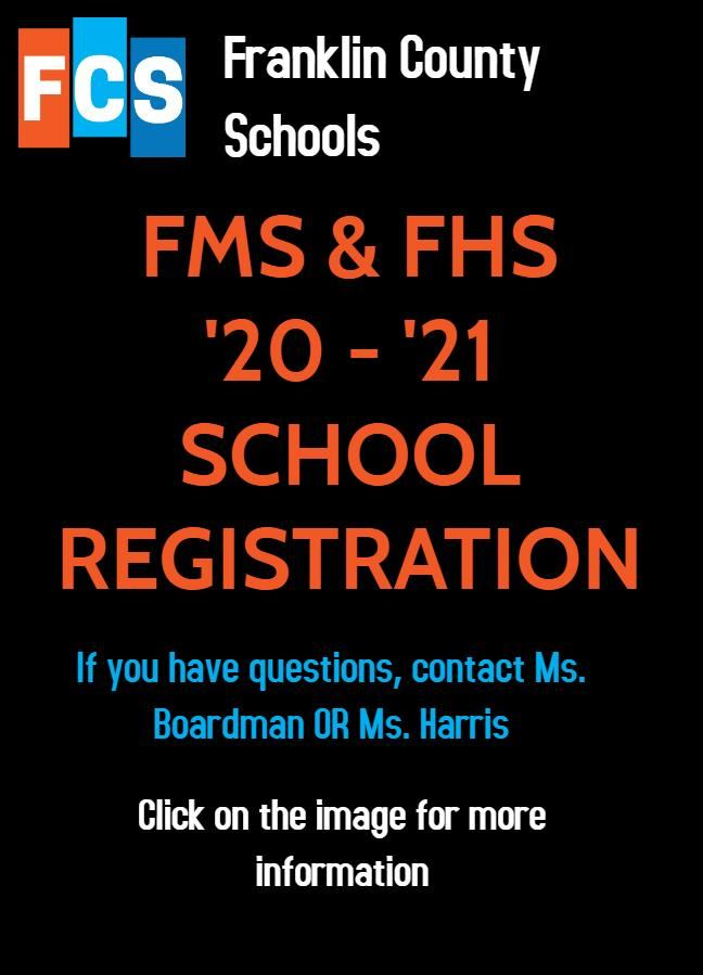 MS & HS Registration