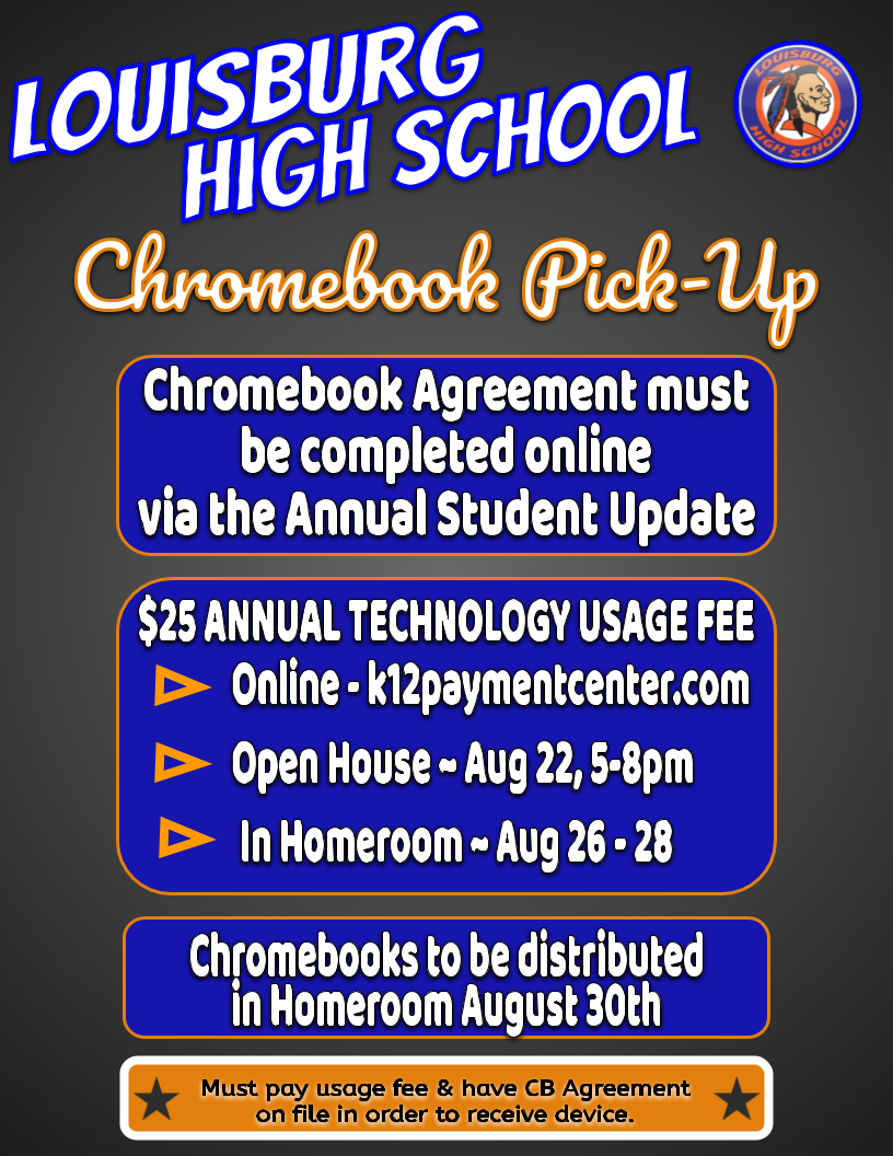 Chromebook Usage / K12 Payment Center