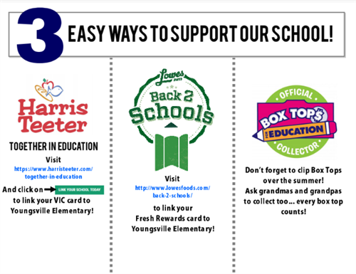 Ways to support our school