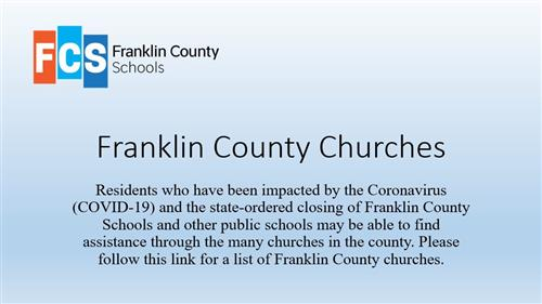 Franklin County Churches