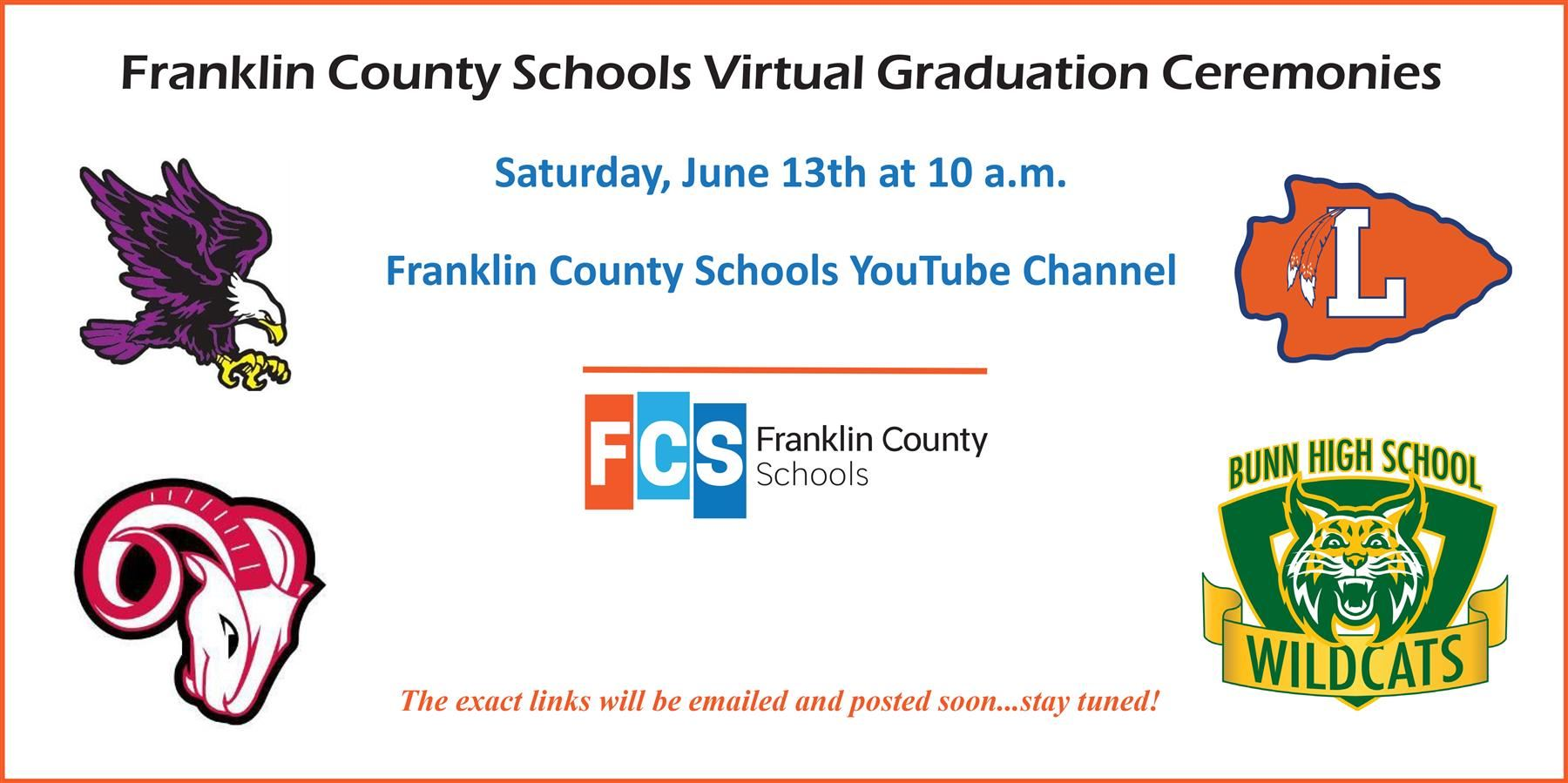 FCS Virtual Graduation Ceremonies