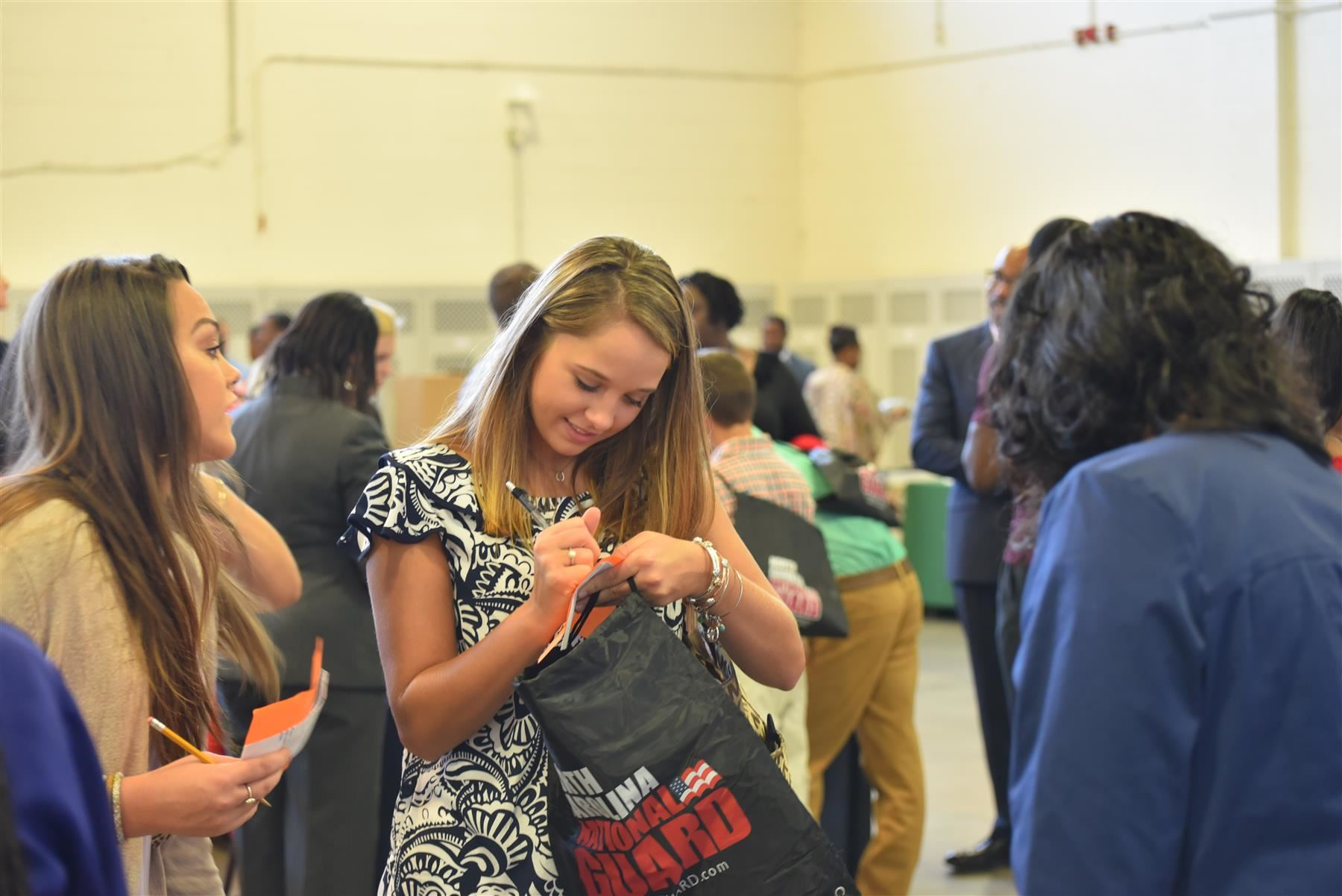 Students Participate in Career and College Fair