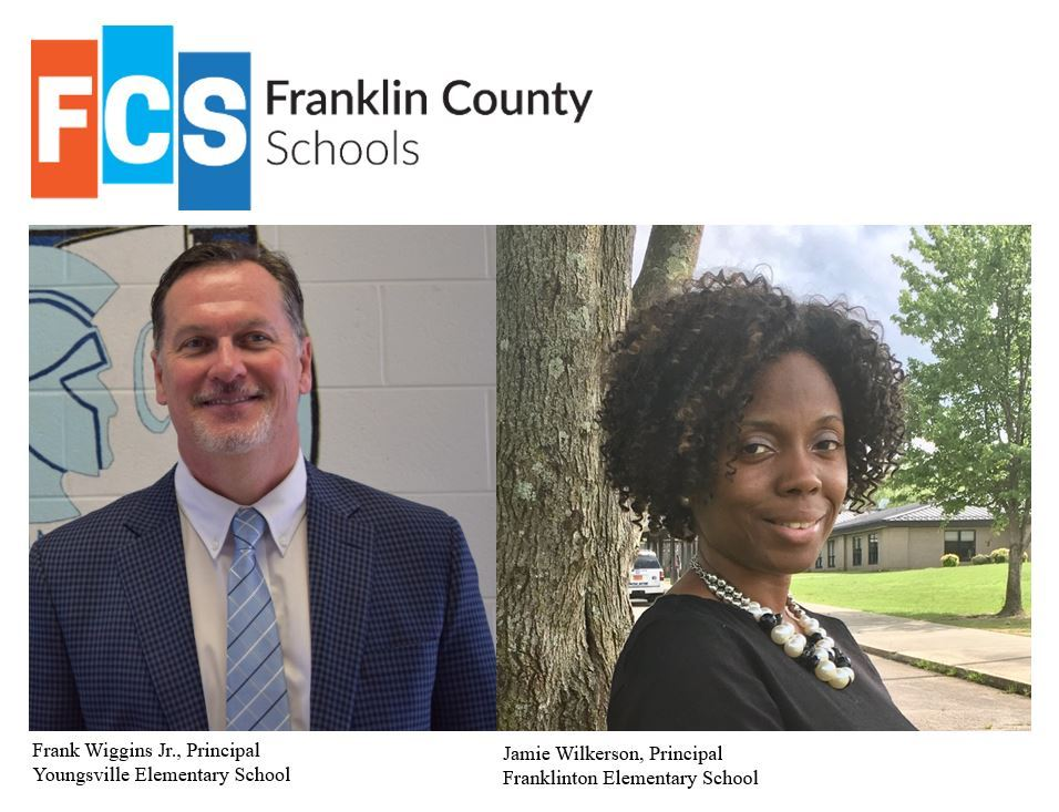 Franklin County Schools appoints two new principals for 2019-2020