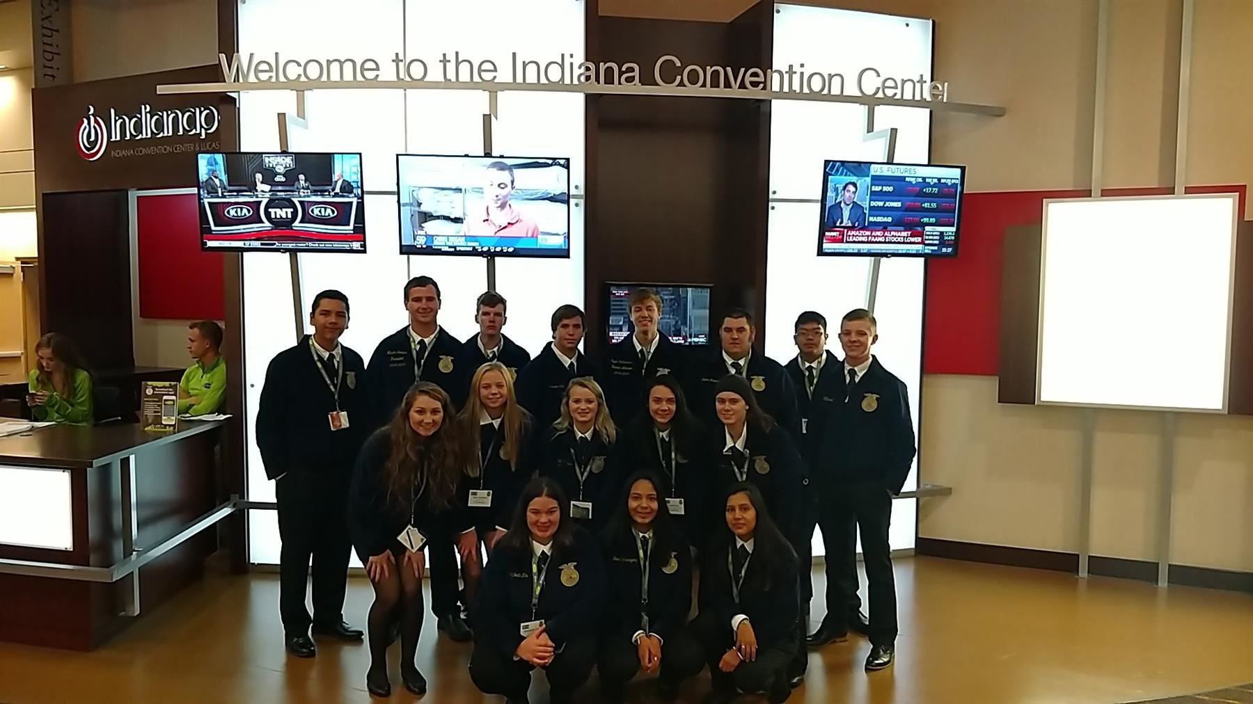 Future Farmers of America Attend National Conference