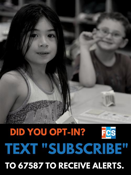 Graphic asking parents to opt-in.