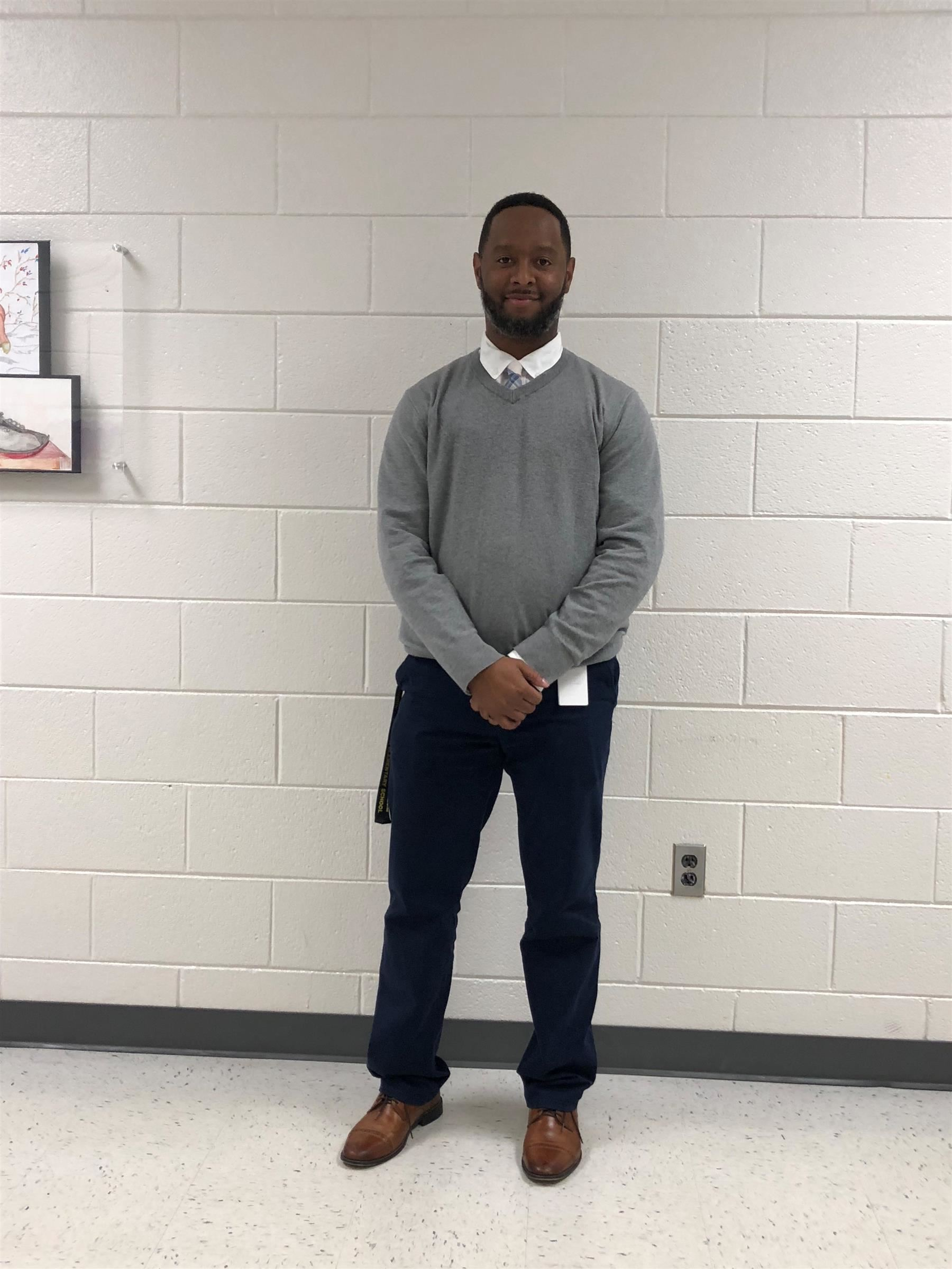 Roderick Boyles Named Assistant Principal of Franklinton Elementary School