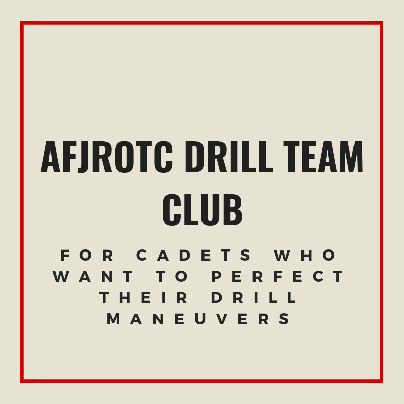 AFJROTC Drill Team Club