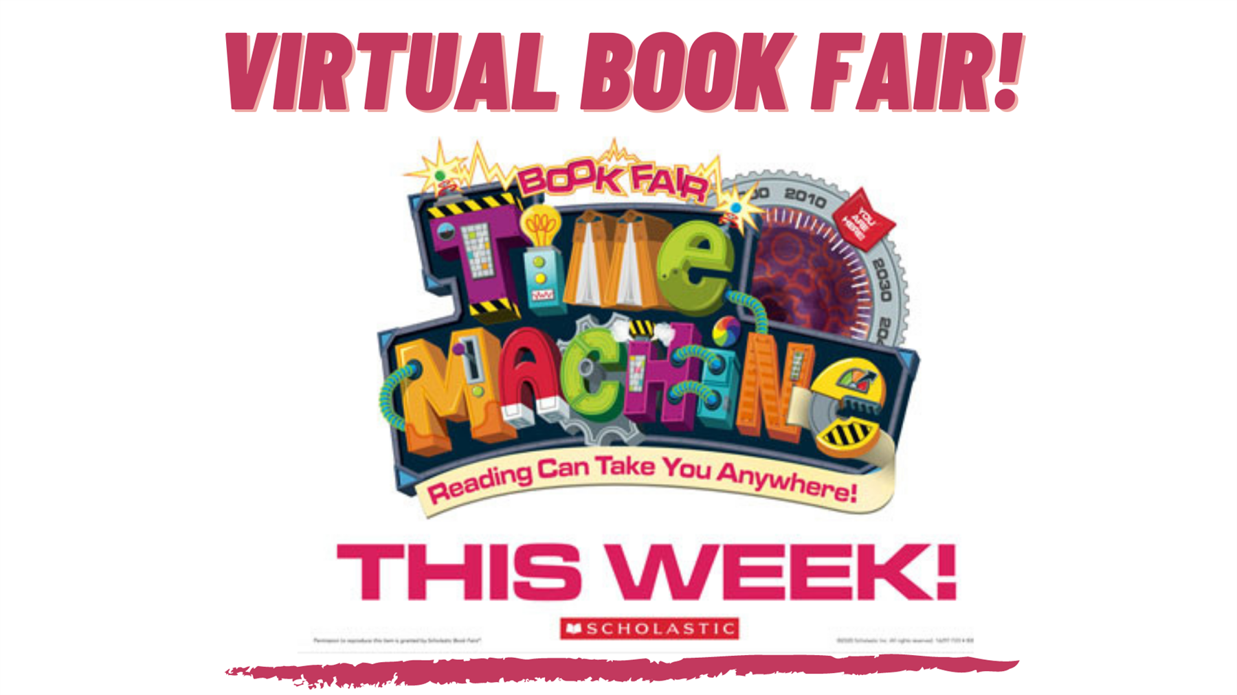 Join us for our book fair 4/8-4/12